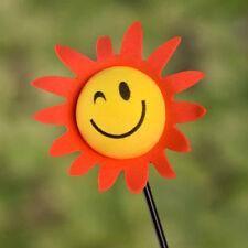 Lovely Funny Auto Car Antenna Pen Topper Aerial Ball Decor Face Sun Sunflower