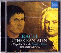 BACH Luther-Kantaten Cantata ROLAND WILSON La Capella Ducale Musica Fiata DHM CD