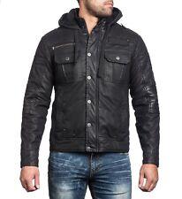 NEW black reflection affliction Jacket! Size 3XL