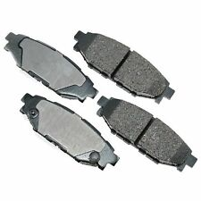 Rear Brake Pads Semi-Metallic For SUBARU BRZ Fit Forester Impreza Legacy Outback