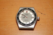 Omega SEAMASTER ELECTRONIC f300Hz 41mm STEEL DIVER RARE MEN WATCH 4 parts repair