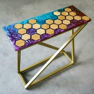 Epoxy Resin Dining Table Coffee Table 100% Handmade Luxury Design, Home Décor