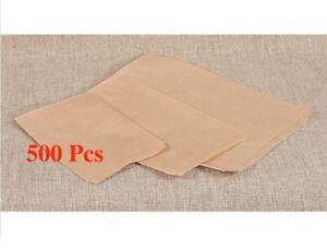 500Pc Kraft Paper Bags Wholesale Kraft Bags Merchandise Bags Jewelry Gift Bags