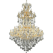 Palace Maria Theresa 85 Light Foyer Crystal Chandelier Light Gold 72x96