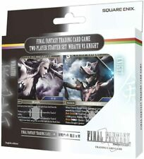 FFTCG Final Fantasy Trading Card Game Two Player Starter Deck Wraith v Knight
