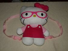 """Hello Kitty Plush Girls Back pack Adorable 14"""" tall"""