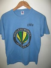 Wingless Wonder Las Vegas Hot Air Balloon Crew Vintage 1980's Thin Usa T Shirt M
