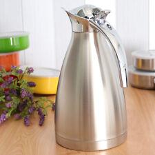 1.5 L Edelstahl 24 Stunden Isolierung Kaffeekanne Thermoskanne doppelwandig