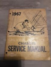 New Listing1967 chevrolet truck chassis service manual