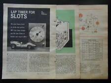 Photoelectric Lap Timer HO & Slot Cars How-To build PLANS