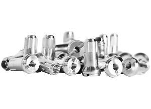 Bulldog 98-641 Billet Aluminum Nipples - Silver