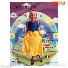 Children Girls Snow White Costume 7-9yrs old Storybook Halloween
