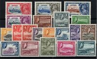 P130585/ BRITISH ANTIGUA / LOT 1935 – 1962 MINT MH FULL SETS CV 144 $
