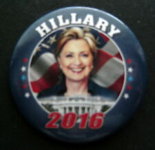 "HILLARY CLINTON 2016 Political PIN 2 1/4"" Round"