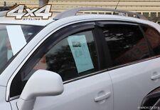 For Vauxhall Opel Antara 2007+ Wind Deflectors Set (4 pieces)