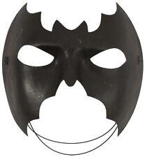 MASQUERADE BATMAN MASK EYE BAT MASK BLACK SUPER HERO PARTY FANCY DRESS ACCESSORY
