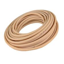 """Beige Abrasion-Resistant Gum Rubber Tube Inner Dia 3/8"""" Outer Dia 1/2"""" - 5 ft"""
