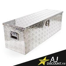 Caisse à outils - Coffre en Alu pour remorque camping car 123x38x38 - Aluminium