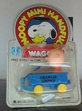 Vintage Peanuts Snoopy Handfuls Charlie Brown's Blue Wagon New In Package Rare