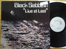BLACK SABBATH - Live At Last LP * Ariola NEMS * NL 1980