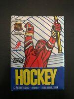 1989-90 Topps Hockey Unopened Wax Pack