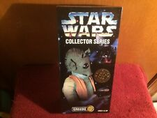 1996 KENNER STAR WARS GREEDO COLLECTOR SERIES 12 INCH NEW IN BOX