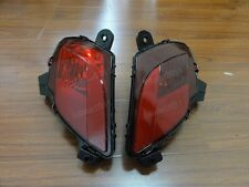 1Pair Rear Fog Light Bumper Lamps Len Reflector For Mazda CX-5 2013-2015