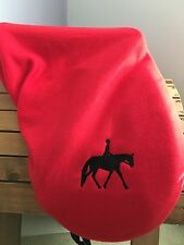 English Dressage, Hunt, Saddle Seat, All Purpose Saddle Fleece Protector Cover