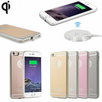 QI Wireless Charger Cases for iPhone 6S 7 Plus Charging Power Receiver Cover Pad