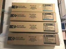 Ricoh  2 Black and 2 Cyan Toner for MPC 2030 C2050 C2550 Lot of 4 - KATUN