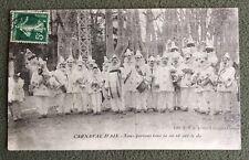 CPA. AIX. 13 - Carnaval d'Aix. 1913. Musiciens. Fanfare. Tambour. Musique.