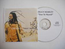 ZIGGY MARLEY : TRUE TO MYSELF [ CD R FRENCH PROMO SINGLE ] ~ PORT GRATUIT