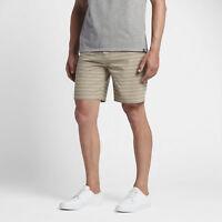 "Hurley Men's Phantom Gibbs 18.5"" Walk Casual Shorts - Khaki"