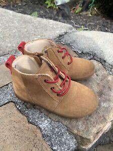Ugg Boots Chukka   Kristjan 109711 4T Brown Size 9/26 Boho Retro Casual Dress