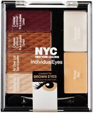 NYC Individual Eye Shadow Compact Palette & Applicatour-Choose Colour