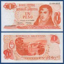 ARGENTINIEN / ARGENTINA 1 Peso (1974) UNC P.293