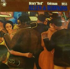 HENRY RED ALLEN & COLEMAN HAWKINS 1933 Smithsonian Collection SEALED LP