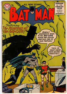 Batman 99 (1956) VG Penguin Appearance