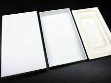 nur VERPACKUNG für iPhone 5 5S Slimbox *ohne iPhone* weiße Box Schachtel Karton