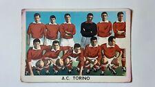 FIGURINA-STICKERS CALCIATORI 1960/61 TORINO (SQUADRA) EDIZIONE SIDAM CARTONATA