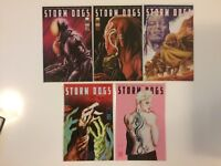 Near Complete Set Storm Dogs #1 2 3 4 5 Image Comics (2012) 1st prints VF/NM