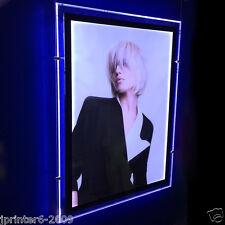 "Single Sided Portrait A1 LED Window Light Panel Pocket Display 70x95cm 28""x38"""