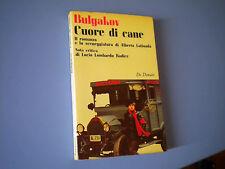 BULGAKOV - CUORE DI CANE CON LA SCENEGGIATURA DI LATTUADA 1975