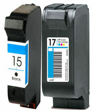 Non-OEM Replaces For HP 15 & HP 17 Deskjet 840c 842c Ink Cartridges