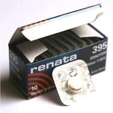 Renata Swiss Made Cell Battery 395 SR927SW SR57 Trendy Watch Silver 1.55v x 1 pc