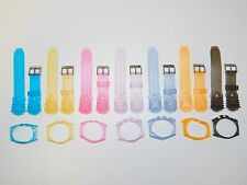 Replacement for Technomarine Silicon 17mm Watch Band & Case Cover COLOR CHOICE