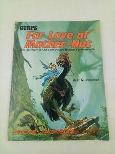 FOR LOVE OF MOTHER-NOT STEVE JACKSON GAMES GURPS 1989 BOOK