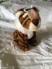 Dan Dee Plush Tiger; 7 Inches High