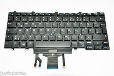 Genuine Dell Latitude E5480 German Layout QWERTZ Backlit Keyboard 4JPX1