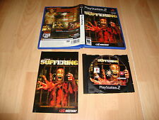 THE SUFFERING 1 SURVIVAL HORROR DE MIDWAY PARA LA SONY PS2 USADO COMPLETO